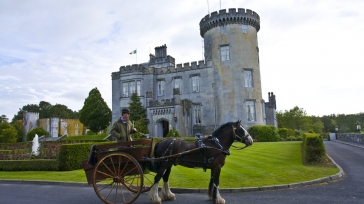 Your luxury castle hotel in Ireland, first-class for two at the Dromoland Castle