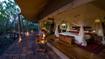 A luxury safari camp in Botswana – Zarafa Camp