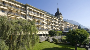 The Tower Suite at Victoria-Jungfrau Grand Hotel & Spa