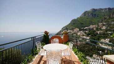 Pearl of Positano: Villa Affresco, your private villa at the Amalfi coast