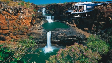 Discover the magic waterholes at El Questro Wilderness park in Australia