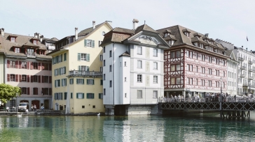 Collecting memories in Hotel Wilden Mann Lucerne