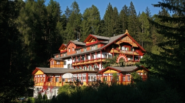 Parkhotel Sole Paradiso: a little paradise in the Dolomites