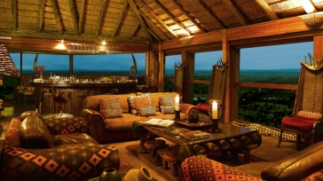 African magic: Ulusaba Rock Lodge