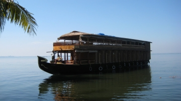 Cruise the 'Backwaters' of India on a houseboat