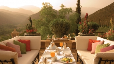 Special offer from Kasbah Tamadot, a deluxe boutique hotel in Marrakech