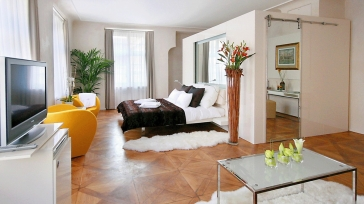 "A new luxury boutique hotel in Prague ""At The Three Storks"""